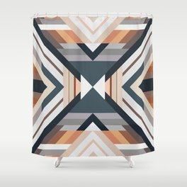American Native Pattern No. 212 Shower Curtain