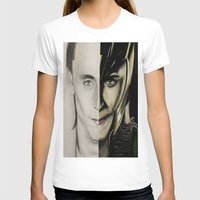 tom hiddleston T-shirts featuring Tom Hiddleston by Goolpia