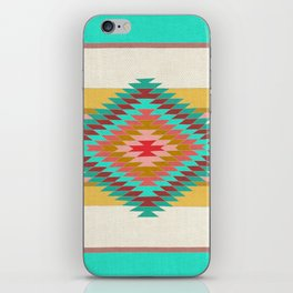 FIESTA (teal) iPhone Skin