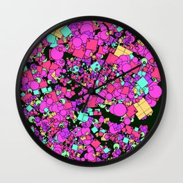 Shape Smash! Wall Clock