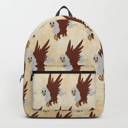 Hippogriff Pattern Backpack