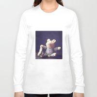 hug Long Sleeve T-shirts featuring Hug by Sybille Sterk
