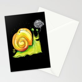 eat me escargot Stationery Cards