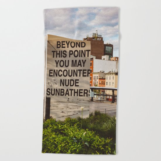 Highline View III Beach Towel