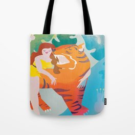 The Tyger Part 3 Tote Bag