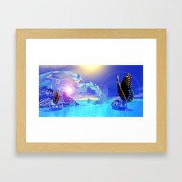 Dimension Touch Framed Art Print