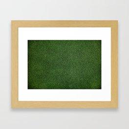 Bright Lush Green Grass Framed Art Print