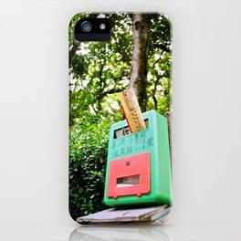 Taiwan Postbox iPhone Case