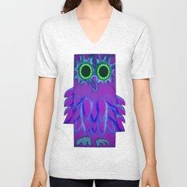 NIGHT OWL Unisex V-Neck