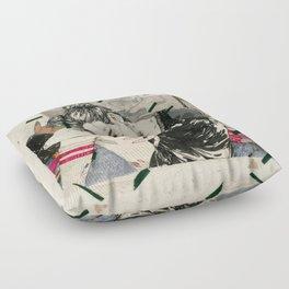 See through lies Floor Pillow
