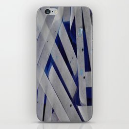 water stripes iPhone Skin