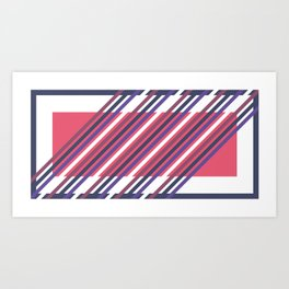 Re-Cadré Art Print