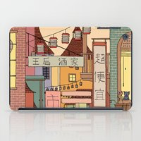 china iPad Cases featuring China Town by James White