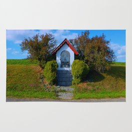 Wayside shrine in summertime II | architectural photography Rug