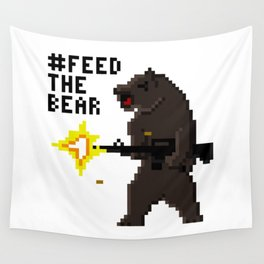Bear Arms #2 Wall Tapestry