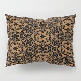 Black and Bronze Kaleidoscopes 2671 Pillow Sham