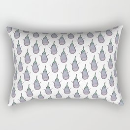 Crazy aubergines Rectangular Pillow