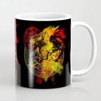 fullmetal Mugs featuring Alchemy by Coffeewatson