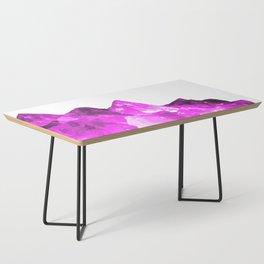 Amethyst crystal Coffee Table