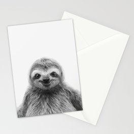 Young Sloth Stationery Cards