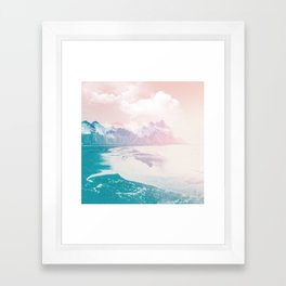 Fantasy Island Framed Art Print