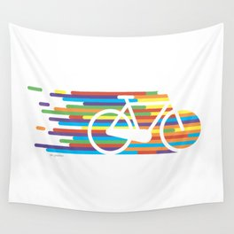 Colorful bicycle 1 Wall Tapestry