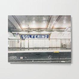 parisian subways Metal Print