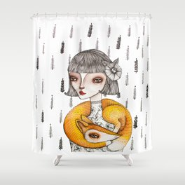 Foxie Shower Curtain