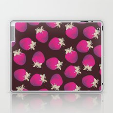 Strawberries and Chocolate Pattern Laptop & iPad Skin