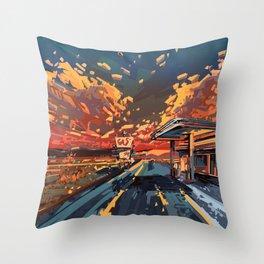 american landscape 7 Throw Pillow