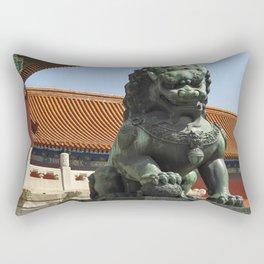 Forbidden City Lion Rectangular Pillow