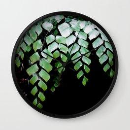 Diamond Maidenhair Wall Clock