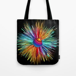 Color Explosion Three Tote Bag