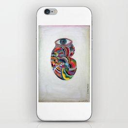 Ojo caracol iPhone Skin