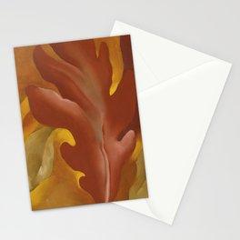 Oak Leaves by Georgia O'Keeffe Stationery Cards