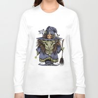witch Long Sleeve T-shirts featuring Witch by Kape