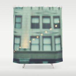 hearts. An Urban Romance No. 2 Shower Curtain