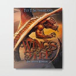 Wings of Fire 5 Metal Print