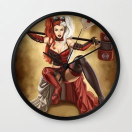 harlequinn Wall Clock