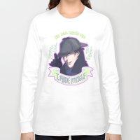enerjax Long Sleeve T-shirts featuring Sherlock - I Made Myself by enerjax