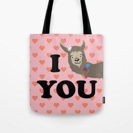 I llama you Tote Bag