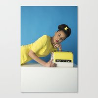 bauhaus Canvas Prints featuring Bauhaus by Chloe Lee