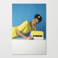 bauhaus Canvas Prints featuring Bauhaus by Chloe Lee