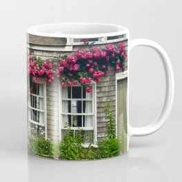 Rose House in Sconset Nantucket Coffee Mug