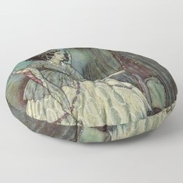 A Higher Destiny Lies Before You By Edmund Dulac Floor Pillow