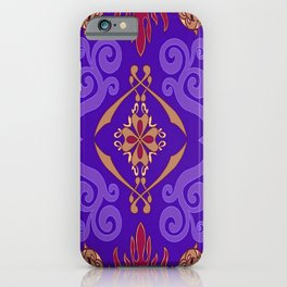 Aladdin Purple Magic Carpet iPhone Case