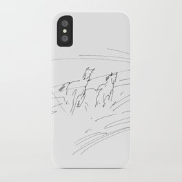 Horses (Summer Morning) iPhone Case