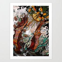 Nature by MaxillaMellifer, aka Rosemary Knowles Art Print