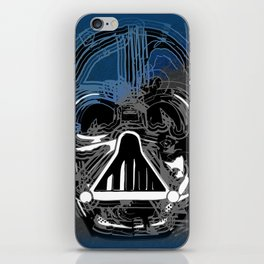 Darth Vader the Grey iPhone Skin