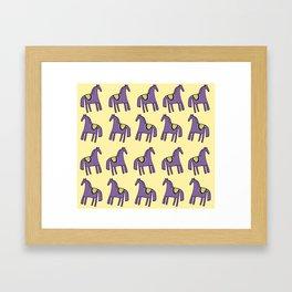Baby Horse Framed Art Print